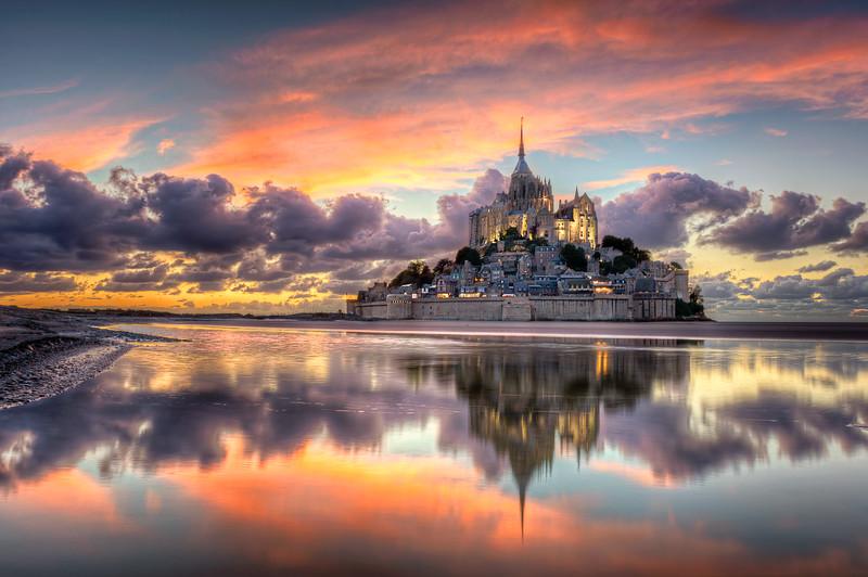 Le magnifique Mont Saint-Michel