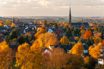 Autumn in Vaals, Netherlands