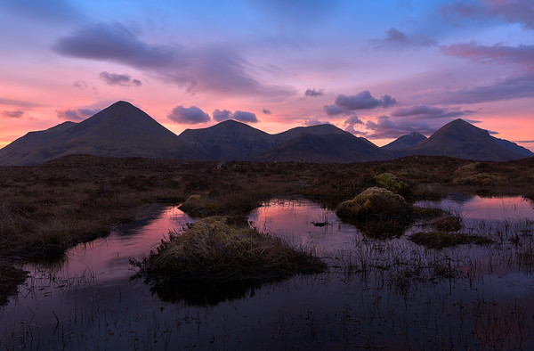 The Red Cuillins