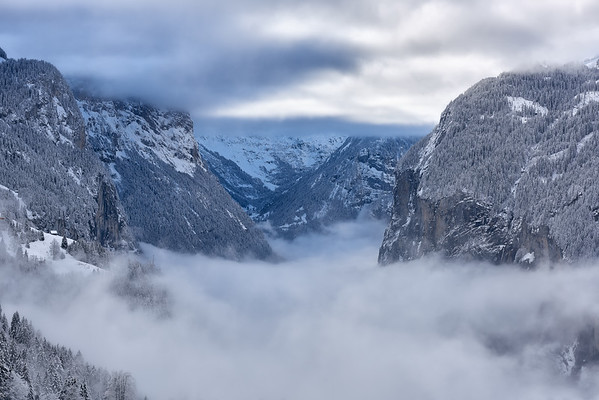 In between clouds || Lauterbrunnen - Switzerland
