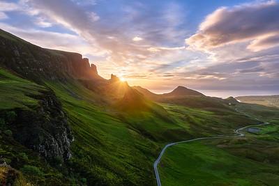 Sunrise at Quiraing    Isle of Skye