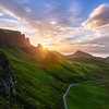 Sunrise at Quiraing || Isle of Skye