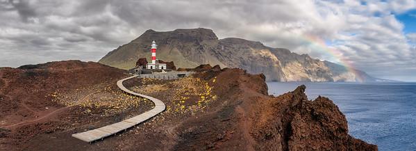 Split up sky at punta de teno in Tenerife