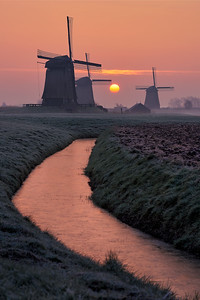 The mills of the rising sun || The Netherlands