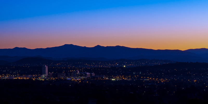 Overlooking Canberra, ACT, Australia