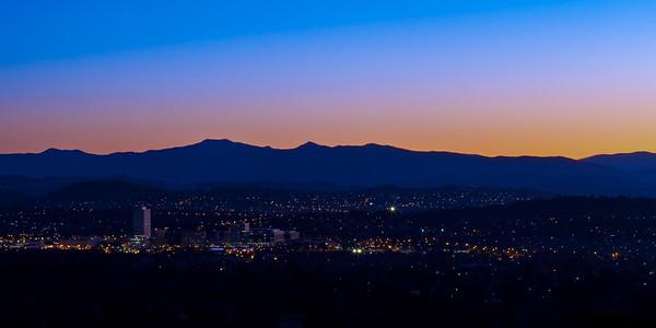 Overlooking Canberra, ACT, Australia