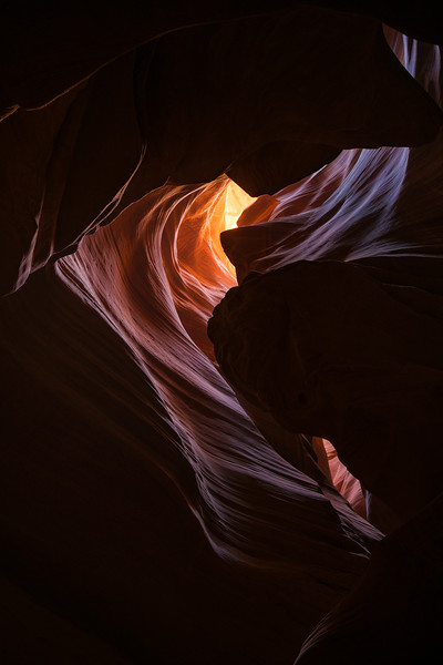 Upper Antelope Canyon, Navajo Nation, Page, Arizona (2016)