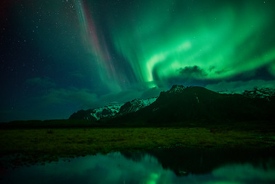 Northern Lights over Southern Iceland