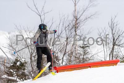 Mont-Tremblant, QC, Canada  - January 30 2021:  Tremblant Parc Sud   Photo by:  Gary Yee (garyphoto.ca)