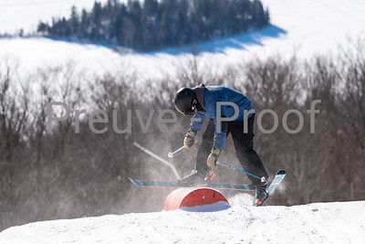 Mont-Tremblant, QC, Canada  - January 31 2021:  Tremblant Parc Sud   Photo by:  Gary Yee (garyphoto.ca)