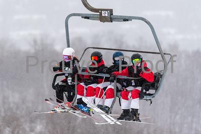 Mont-Tremblant, QC, Canada  - February 7 2021:  Tremblant Parc Adrénaline   Photo by:  Gary Yee (garyphoto.ca)