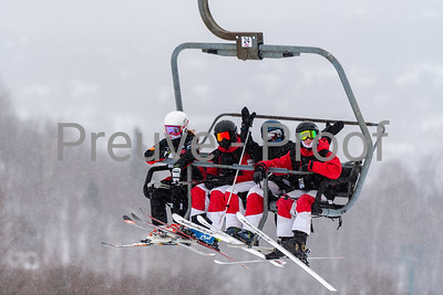 Mont-Tremblant, QC, Canada  - February 7 2021:  Tremblant Parc Adrénaline   Photo by:  Gary Yee (garyphoto.ca)