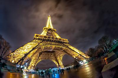 The monumental Eilffel Tower