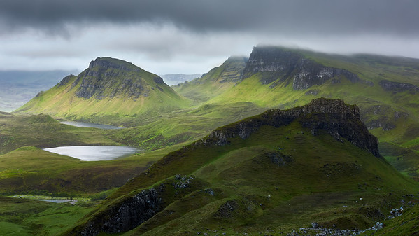 The Lost Valley || Isle of Skye, Scotland