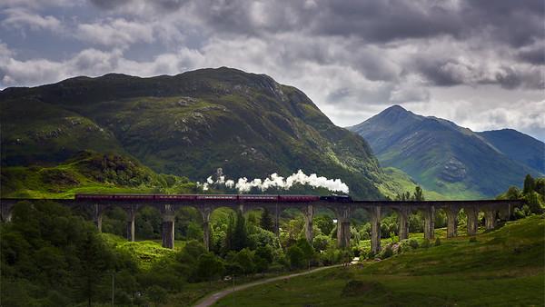 Hogwarts express || Glenfinnan, Scotland