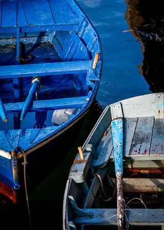 Barcas, Espasante, Galicia, Spain
