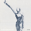 Ballet Sketch One Arm Extended - Beverly Brown Prints