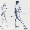 Ballet Sketch Tendu Back
