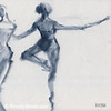 Ballet Sketch Passe en Pointe - Beverly Brown Prints
