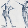Ballet Sketch Two Dancers Shift - Beverly Brown Prints