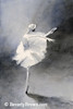 Watercolor Ballerina Painting - Beverly Brown Art Prints