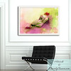 Foyer with Reclining Woman Framed Art - Beverly Brown Prints