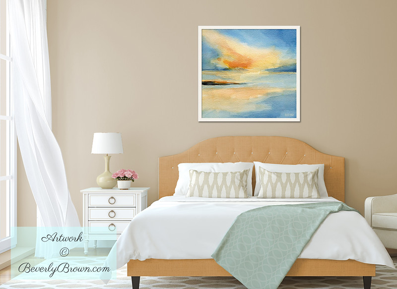 Sunset Art for the Bedroom - Beverly Brown Art Prints