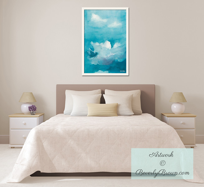 Peaceful Art for the Bedroom - Beverly Brown Art Prints