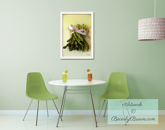 Kitchen Art with a Vintage Feel - Beverly Brown Art Prints