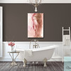 Feminine Brown and White Bathroom - Beverly Brown Prints