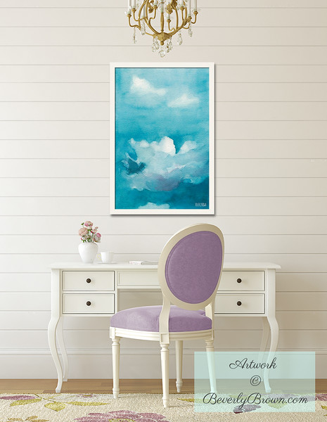 Inspirational Art for the Home Office - Beverly Brown Art Prints