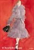 Gray Coat High Fashion Art - Beverly Brown Art Prints