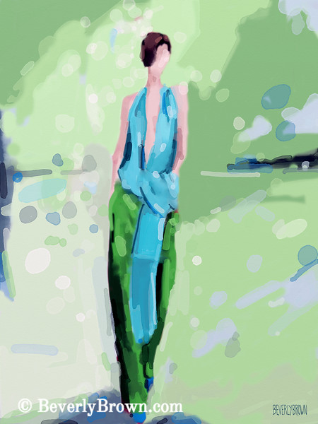 Inspired by Haider Ackermann Fashion Art - Beverly Brown Art Prints