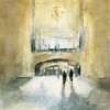 Grand Central Terminal Light - Beverly Brown Prints.