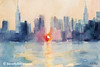 Manhattanhenge New York Skyline Art - Beverly Brown Art Prints