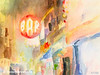 Bar 8th Avenue New York City Art - Beverly Brown Art Prints