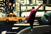 Fifth Avenue Taxi New York City  Painting - Beverly Brown Prints