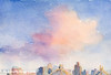 Pink Cloud 59th St. Bridge New York City Art - Beverly Brown Art Prints