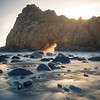Keyhole Rock, Big Sur CA, 2018