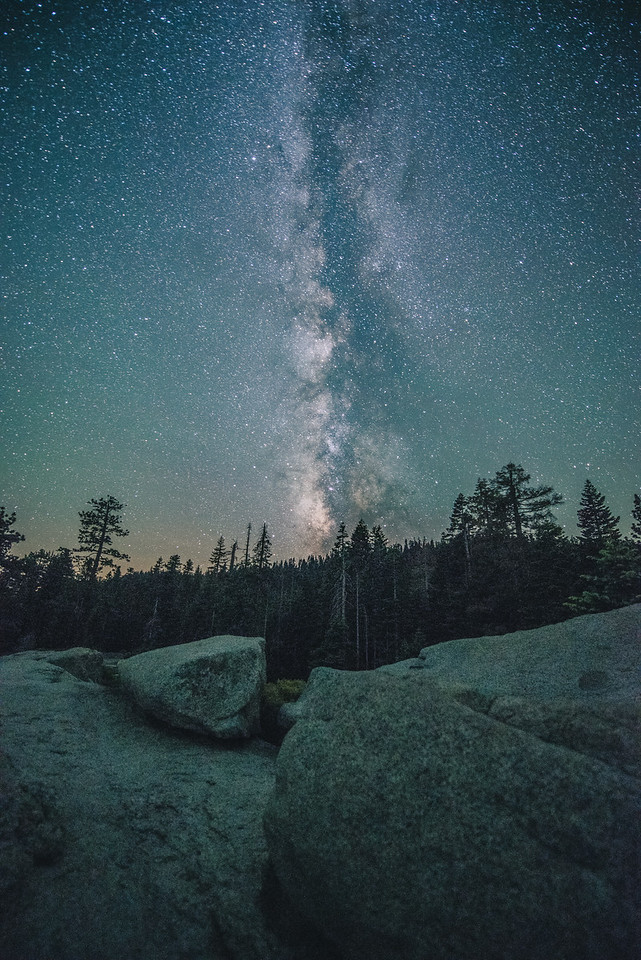 The Milky Way Rises Above, 2016