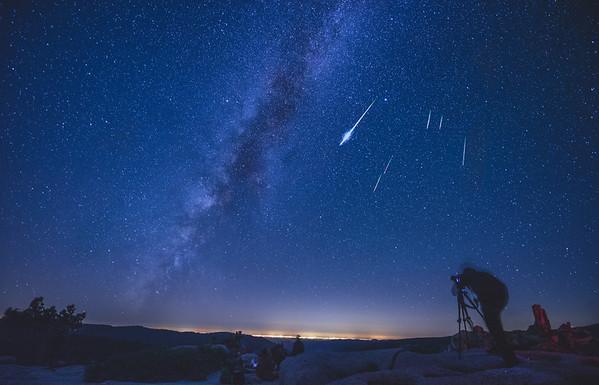 Perseid Meteor Shower, 2015