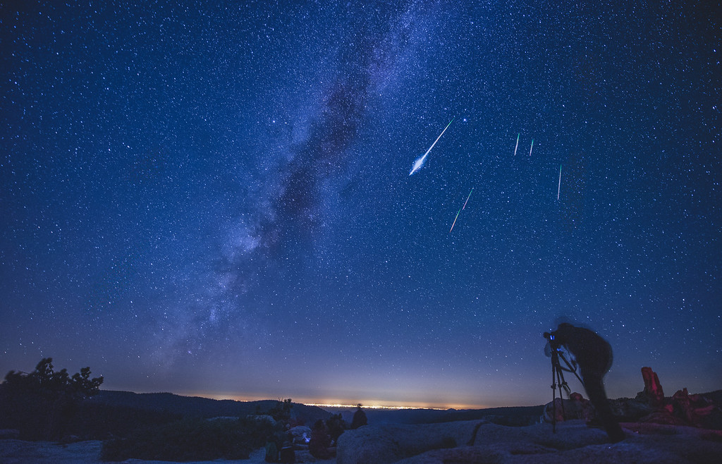 Perseid Meteor Shower, 2015