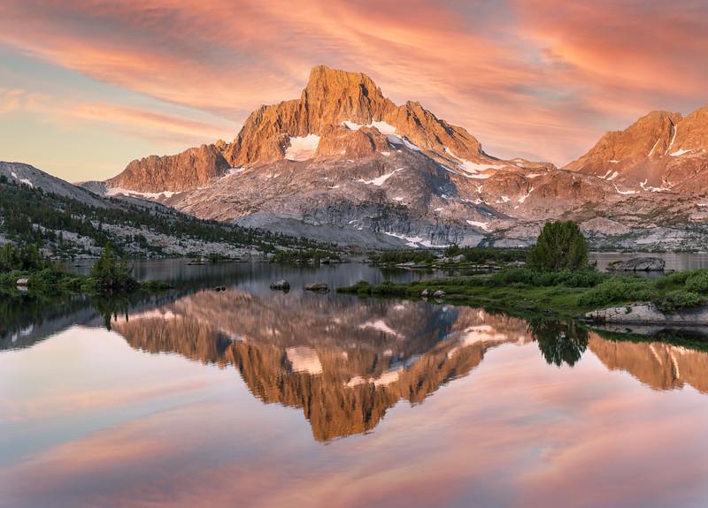 Sunrise at Thousand Island Lake, 2021