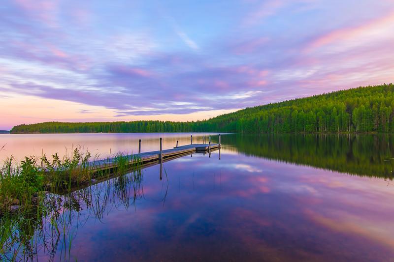 Colorful Evening - Mannilaniemi