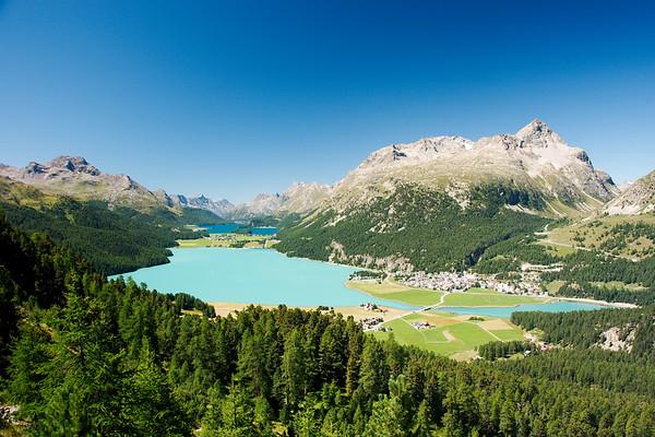 Lakes of Oberengadin