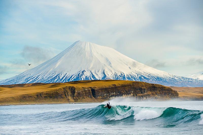 Aleutian Volcano