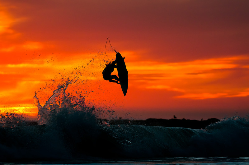 Nate Tyler going big at Sunset