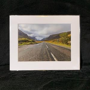 The road to the Glen @ Glencoe