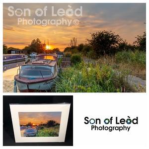 Sunset @ Heybridge Essex