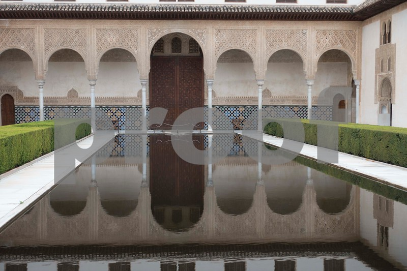Pool in Alhambra